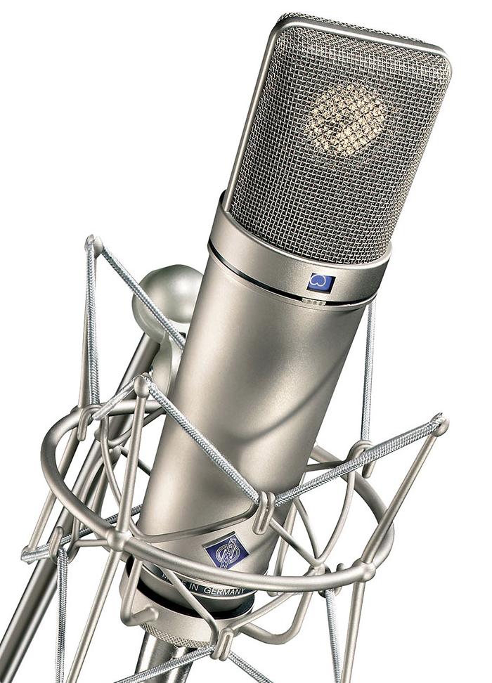 Microfonía del estudio Koryland